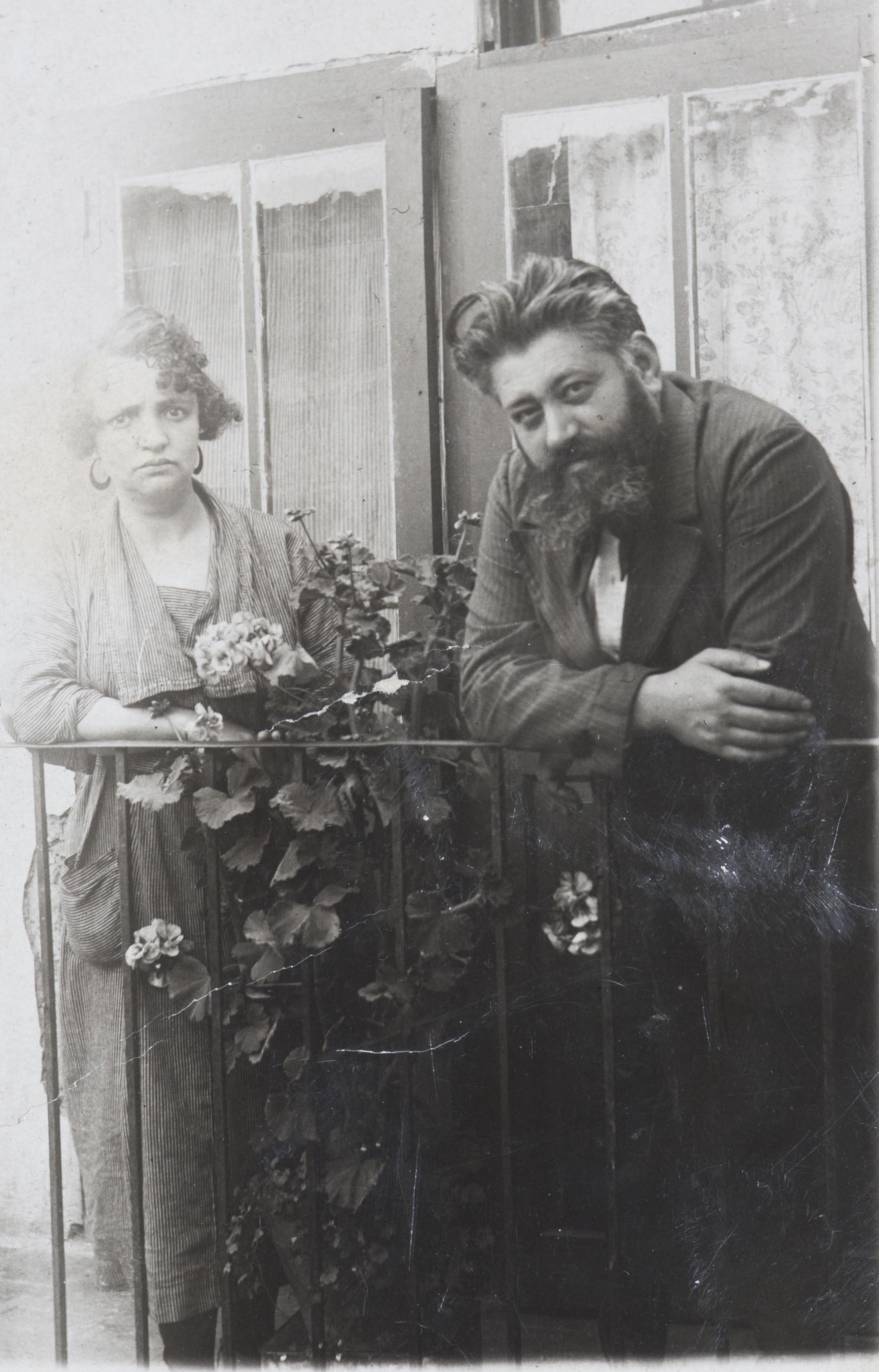 Angel Julian Rubio y Florinda Velasco de Santiago esposa, desde 1907 a 1933 abaut