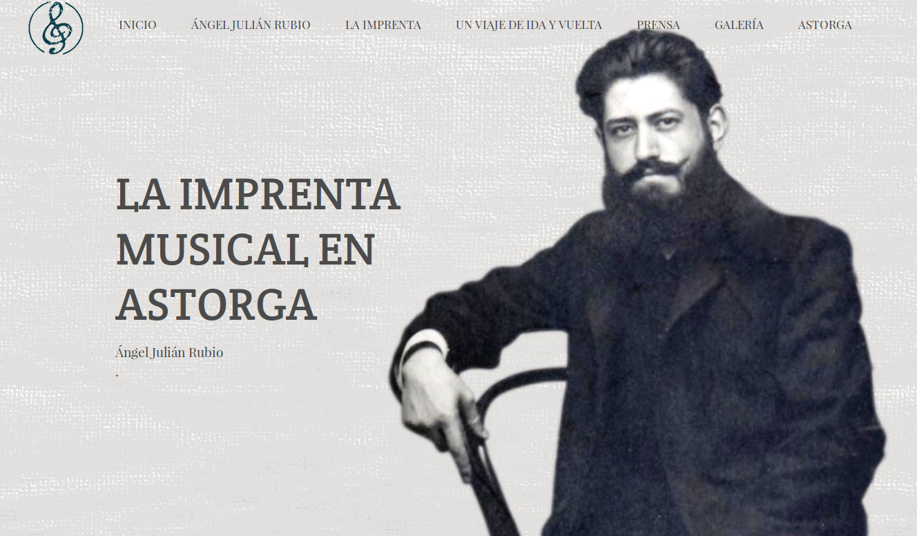 Web de la Imprenta Musical de Ángel Julián